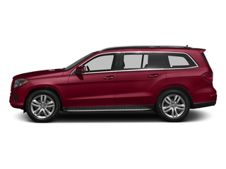 designo Cardinal Red Metallic 2017 Mercedes-Benz GLS Pictures GLS Utility 4D GLS450 AWD V6 Turbo photos side view