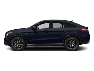 Lunar Blue Metallic 2017 Mercedes-Benz GLE Pictures GLE Utility 4D GLE43 AMG Sport Cpoe AWD photos side view