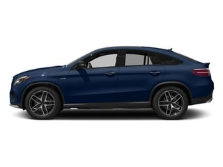 Brilliant Blue Metallic 2017 Mercedes-Benz GLE Pictures GLE Utility 4D GLE43 AMG Sport Cpoe AWD photos side view
