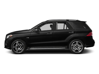 Obsidian Black Metallic 2017 Mercedes-Benz GLE Pictures GLE Utility 4D GLE43 AMG AWD V6 photos side view
