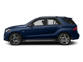 Brilliant Blue Metallic 2017 Mercedes-Benz GLE Pictures GLE Utility 4D GLE43 AMG AWD V6 photos side view