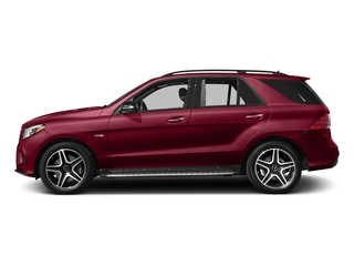 designo Cardinal Red Metallic 2017 Mercedes-Benz GLE Pictures GLE Utility 4D GLE43 AMG AWD V6 photos side view