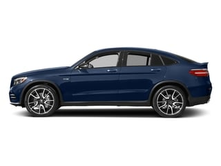 Brilliant Blue Metallic 2017 Mercedes-Benz GLC Pictures GLC Util 4D GLC43 AMG Sport Coupe AWD V6 photos side view