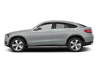 Iridium Silver Metallic 2017 Mercedes-Benz GLC Pictures GLC Util 4D GLC300 Sport Coupe AWD I4 photos side view