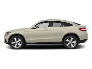 designo Diamond White Metallic 2017 Mercedes-Benz GLC Pictures GLC Util 4D GLC300 Sport Coupe AWD I4 photos side view