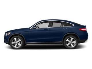 Brilliant Blue Metallic 2017 Mercedes-Benz GLC Pictures GLC Util 4D GLC300 Sport Coupe AWD I4 photos side view