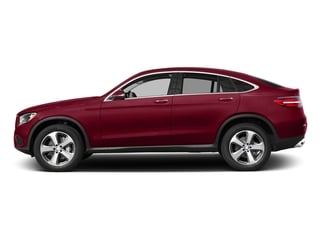 designo Cardinal Red Metallic 2017 Mercedes-Benz GLC Pictures GLC Util 4D GLC300 Sport Coupe AWD I4 photos side view