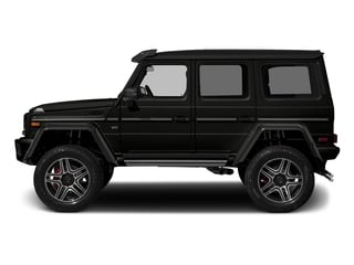 designo Magno Night Black (Matte Finish) 2017 Mercedes-Benz G-Class Pictures G-Class G 550 4x4 Squared SUV photos side view