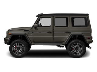 designo Sintered Bronze Magno (Matte Finish) 2017 Mercedes-Benz G-Class Pictures G-Class G 550 4x4 Squared SUV photos side view