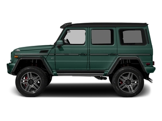 Agate Green 2017 Mercedes-Benz G-Class Pictures G-Class G 550 4x4 Squared SUV photos side view