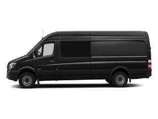 Jet Black 2017 Mercedes-Benz Sprinter Crew Van Pictures Sprinter Crew Van 2500 High Roof I4 170 RWD photos side view