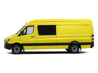 Calcite Yellow Metallic 2017 Mercedes-Benz Sprinter Crew Van Pictures Sprinter Crew Van 2500 High Roof I4 170 RWD photos side view