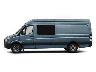 Brilliant Blue Metallic 2017 Mercedes-Benz Sprinter Crew Van Pictures Sprinter Crew Van 2500 High Roof I4 170 RWD photos side view