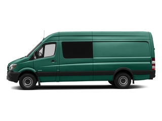 Solar Green 2017 Mercedes-Benz Sprinter Crew Van Pictures Sprinter Crew Van 2500 High Roof I4 170 RWD photos side view