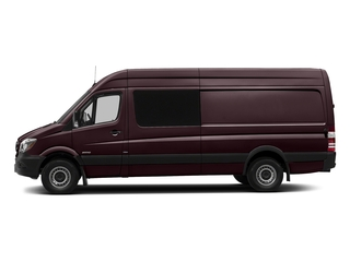 Velvet Red 2017 Mercedes-Benz Sprinter Crew Van Pictures Sprinter Crew Van 2500 High Roof I4 170 RWD photos side view