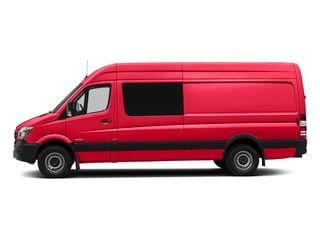 Coca Cola Red 2017 Mercedes-Benz Sprinter Crew Van Pictures Sprinter Crew Van 2500 High Roof I4 170 RWD photos side view
