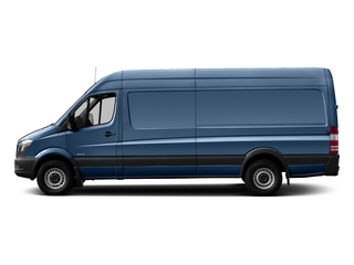Brilliant Blue Metallic 2017 Mercedes-Benz Sprinter Cargo Van Pictures Sprinter Cargo Van 3500 High Roof V6 170 Extended RWD photos side view