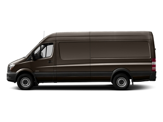 Dolomite Brown Metallic 2017 Mercedes-Benz Sprinter Cargo Van Pictures Sprinter Cargo Van 3500 High Roof V6 170 Extended RWD photos side view