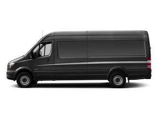 Graphite Gray Metallic 2017 Mercedes-Benz Sprinter Cargo Van Pictures Sprinter Cargo Van 3500 High Roof V6 170 Extended RWD photos side view