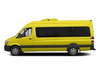 Calcite Yellow 2017 Mercedes-Benz Sprinter Passenger Van Pictures Sprinter Passenger Van Extended Passenger Van High Roof photos side view