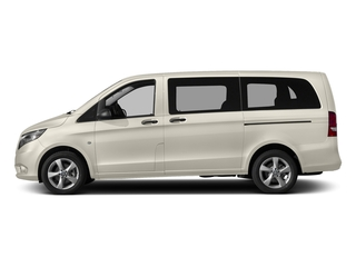 Mountain Crystal White Metallic 2017 Mercedes-Benz Metris Passenger Van Pictures Metris Passenger Van Passenger Van photos side view