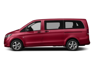 Jupiter Red 2017 Mercedes-Benz Metris Passenger Van Pictures Metris Passenger Van Passenger Van photos side view