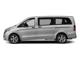 Brilliant Silver Metallic 2017 Mercedes-Benz Metris Passenger Van Pictures Metris Passenger Van Passenger Van photos side view