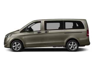 Indium Gray Metallic 2017 Mercedes-Benz Metris Passenger Van Pictures Metris Passenger Van Passenger Van photos side view