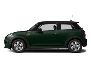 British Racing Green Metallic 2017 MINI Hardtop 2 Door Pictures Hardtop 2 Door Cooper FWD photos side view