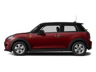 Blazing Red Metallic 2017 MINI Hardtop 2 Door Pictures Hardtop 2 Door Cooper FWD photos side view