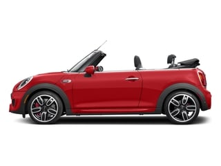 Chili Red 2017 MINI Convertible Pictures Convertible Convertible 2D JCW I4 Turbo photos side view