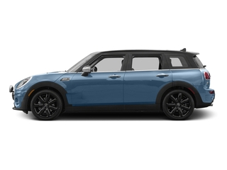 Digital Blue Metallic 2017 MINI Clubman Pictures Clubman Wagon 4D Clubman S AWD I4 Turbo photos side view