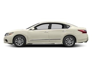Pearl White 2017 Nissan Altima Pictures Altima Sedan 4D S I4 photos side view