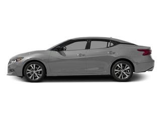 Brilliant Silver 2017 Nissan Maxima Pictures Maxima Sedan 4D SV V6 photos side view