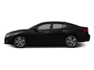 Super Black 2017 Nissan Maxima Pictures Maxima Sedan 4D SV V6 photos side view