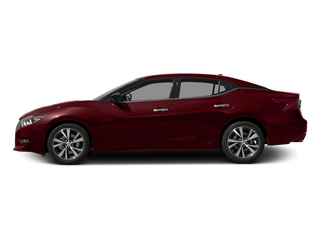 Coulis Red 2017 Nissan Maxima Pictures Maxima Sedan 4D SV V6 photos side view