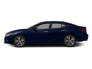 Deep Blue Pearl 2017 Nissan Maxima Pictures Maxima Sedan 4D SV V6 photos side view