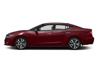 Coulis Red 2017 Nissan Maxima Pictures Maxima Sedan 4D Platinum V6 photos side view