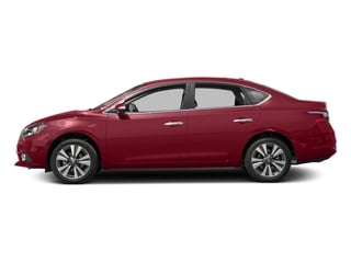 Red Alert 2017 Nissan Sentra Pictures Sentra Sedan 4D SL I4 photos side view