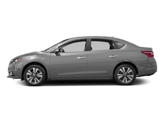 Brilliant Silver 2017 Nissan Sentra Pictures Sentra Sedan 4D SL I4 photos side view