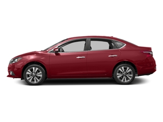 Cayenne Red 2017 Nissan Sentra Pictures Sentra Sedan 4D SL I4 photos side view