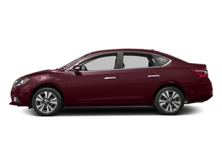 Palatial Ruby 2017 Nissan Sentra Pictures Sentra Sedan 4D SL I4 photos side view