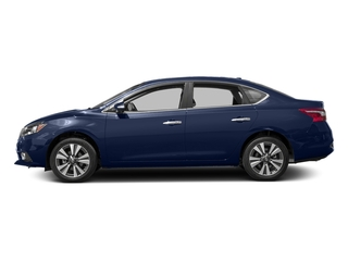 Deep Blue Pearl 2017 Nissan Sentra Pictures Sentra Sedan 4D SL I4 photos side view