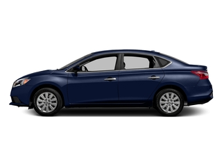 Deep Blue Pearl 2017 Nissan Sentra Pictures Sentra Sedan 4D S I4 photos side view