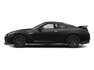 Jet Black Pearl 2017 Nissan GT-R Pictures GT-R Coupe 2D Track Edition AWD V6 Turbo photos side view