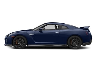 Deep Blue Pearl 2017 Nissan GT-R Pictures GT-R Coupe 2D Track Edition AWD V6 Turbo photos side view
