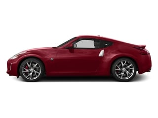 Solid Red 2017 Nissan 370Z Pictures 370Z Coupe 2D Sport Tech V6 photos side view