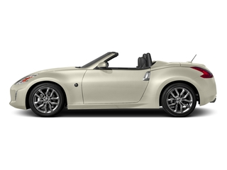 Pearl White 2017 Nissan 370Z Pictures 370Z Roadster 2D Touring Sport V6 photos side view