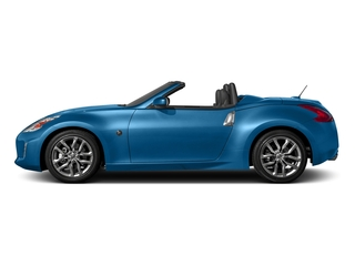 Deep Blue Pearl 2017 Nissan 370Z Pictures 370Z Roadster 2D Touring Sport V6 photos side view