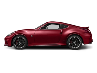 Solid Red 2017 Nissan 370Z Pictures 370Z Coupe 2D NISMO Tech V6 photos side view